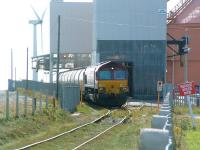 EWS 66176 at the North Blyth Alcan alumina facility on 2 September 2009.<br><br>[Colin Alexander&nbsp;02/09/2009]