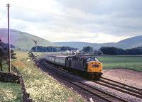 A northbound train at Abington behind an EE Type 4 in July 1970.<br><br>[Colin Miller&nbsp;/07/1970]