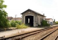 The surviving locomotive shed at Cognac photoraphed on 7 September 2009.<br><br>[Peter Todd&nbsp;07/09/2009]