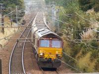66182 at Elderslie en route to Hunterston with empty coal wagons on 16th September<br><br>[Graham Morgan&nbsp;16/09/2009]