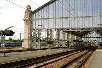 The impressive station at La Rochelle. September 2009.<br><br>[Peter Todd&nbsp;09/09/2009]