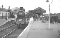 57581 with an SLS railtour at Holytown, Lanarkshire, on 9 June 1962.<br> <br><br>[K A Gray&nbsp;09/06/1962]