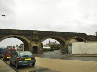 Immediately west of Cullen Station was this four arch viaduct which crosses the main road, the only way to get all the arches in the picture was to stand in the middle of a busy road, so this will have to do.<br><br>[John Gray&nbsp;22/10/2009]