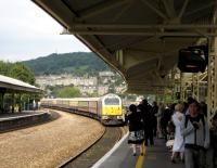 A class 67 arrives at Bath with <I>The Northern Belle</I> in August 2007.<br><br>[Bruce McCartney&nbsp;28/08/2007]