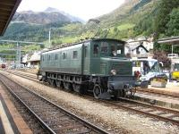 SBB preserved Ae4/7 locomotive number 10997, photographed on an outing to Airolo on 10th October 2009.<br><br>[Michael Gibb&nbsp;10/10/2009]
