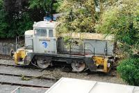 Tucked in behind the signalbox at Great Rocks Junction was this shunter (the nameplate reads 'Harry Townley'). I was reminded of the dead shunters collection standing alongside the ECML at Oxwellmains cement works. [See image 2175]<br><br>[Ewan Crawford&nbsp;20/09/2007]