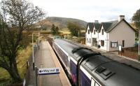 The 1101 ex-Inverness about to leave Achnasheen on 1 October for Kyle of Lochalsh.<br><br>[John Furnevel&nbsp;01/10/2009]