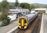 The 1101 ex-Inverness stands at Dingwall on 1 October 2009.  <br><br>[John Furnevel&nbsp;01/10/2009]