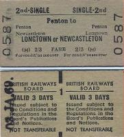 Tickets and labels 03/01/1969
