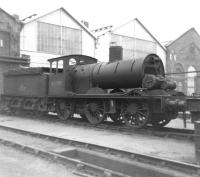 Partially dismantled class J21 0-6-0 no 65099 stands in the yard at Darlington Works on 27 May 1962. This locomotive had initially been identified as a possible candidate for preservation, but was eventually cut up here in early 1966.<br><br>[David Pesterfield&nbsp;27/05/1962]