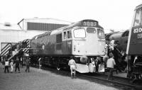 BRCW Type 2 no 5362 receives plenty of attention during the Railfair at Eastfield MPD on 16 September 1972. <br><br>[John McIntyre&nbsp;16/09/1972]