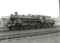 Standard class 5 4-6-0 no 73007 at Perth MPD circa 1961.<br><br>[Ken Browne&nbsp;//1961]