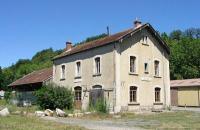 Chalabre former station on the former Mirepoix - Lavalenet branch line in October 2009.<br><br>[Alistair MacKenzie&nbsp;05/10/2009]
