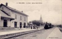 Chalabre station on the former Mirepoix - Lavalenet branch line in 1896.<br><br>[Alistair MacKenzie&nbsp;05/10/2009]