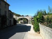 The old railway bridge at Camon on the Mirepoix - Lavalenet branch line.<br><br>[Alistair MacKenzie&nbsp;05/10/2009]