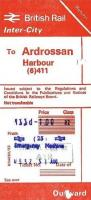 Tickets and labels 31/08/1985