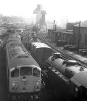 A motley collection - photographed at Carnforth in 1968.<br><br>[David Spaven&nbsp;//1968]