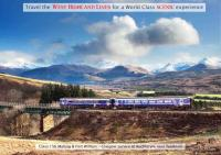 A Mallaig/Fort William - Glasgow service at Auchteryre near Tyndrum. [See News Item] <br><br>[Norman McNab&nbsp;//]
