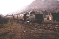 J36 no 65315 stands at Aberfoyle with the SLS <I>Strathendrick Special</I> of 3 May 1958 preparing to return to Glasgow.<br><br>[A Snapper (Courtesy Bruce McCartney)&nbsp;03/05/1958]