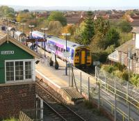The Northern 0944 Hull - Scarborough service makes its penultimate stop at Seamer on 16 October.<br><br>[John Furnevel&nbsp;/10/2009]