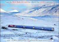A Fort William-bound Caledonian Sleeper train leaving Rannoch on the climb to Corrour Summit [See News Item]<br><br>[Norman McNab&nbsp;//]