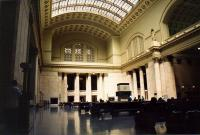 The Great Hall at Union station. Alas poor Euston, I knew him well...<br><br>[Ken Strachan&nbsp;14/09/2001]