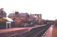 Scene at Bonar Bridge station in August 1972. After carrying the name for 113 years the station was renamed Ardgay 5 years later in 1977.<br><br>[Colin Miller&nbsp;/08/1972]