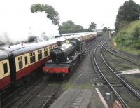7812 running round at Bridgnorth on the Severn Valley Railway in September 2008.<br><br>[Bruce McCartney&nbsp;02/09/2008]