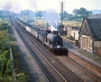 57615 with a northbound coal train passing Lochside in August 1959.<br><br>[A Snapper (Courtesy Bruce McCartney)&nbsp;20/08/1959]