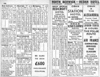Section from Murray's ABC Timetable for Glasgow and the West of Scotland from April 1961.<br><br>[Colin Miller&nbsp;03/04/1961]