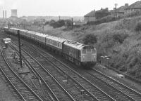 Cowlairs East Junction 16/09/1972