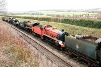The Mid-Hants Railway eqivalent of Barry scrapyard? Not quite! The organisation now appears to have resolved a number of issues with the owner of several locomotives and hopes to see some of them put back into service in the near future.<br> <br><br>[Peter Todd&nbsp;31/12/2009]