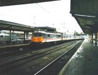 86 244 <I>Royal British Legion</I> pulls into Carlisle with a southbound train in October 1998<br><br>[David Panton&nbsp;/10/1998]