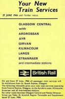 Alterations to BR train services in the west of Scotland with effect from 27 June 1966 ....and the reason for them.<br><br>[Colin Miller&nbsp;27/06/1966]