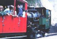 A train starting away from Brienz on the Brienz Rothorn Bahn in July 1962.<br><br>[Colin Miller&nbsp;/07/1962]