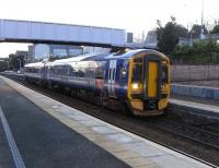 158 704 calls with the last train of the day to terminate at Cowdenbeath on 30 January 2010<br><br>[David Panton&nbsp;30/01/2010]
