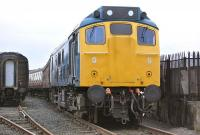 25235 stands at Bo'ness on 14 February 2010.<br> <br><br>[Bill Roberton&nbsp;14/02/2010]