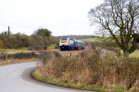 First Great Western HST passing Crofton on 14 February 2010<br><br>[Peter Todd&nbsp;14/02/2010]