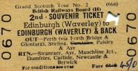Tickets and labels 27/05/1967