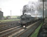 J37 0-6-0 no 64590 passing Saughton Junction on 9 October 1958 with a freight on the E&G line.<br><br>[A Snapper (Courtesy Bruce McCartney)&nbsp;09/10/1958]