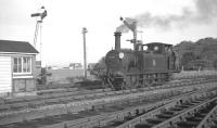 LBSCR <I>Terrier</I> 0-6-0T no 32650 photographed at Hayling Island on 30 October 1962.<br><br>[K A Gray&nbsp;30/10/1962]