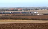 <I>East Coast</I> HST photographed near Alnmouth, Northumberland, on 7 March 2010<br><br>[John Steven&nbsp;07/03/2010]