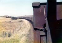 9T26 empties for Polkemmet on Benhar branch. Oct 1978.<br><br>[William Barr&nbsp;/10/1978]