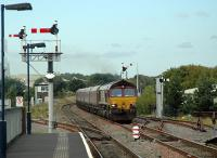 Coal empties passing east through Cosford in 2006.<br><br>[Ewan Crawford 15/09/2006]