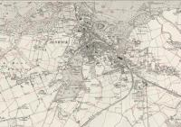 1920 OS map of Alnwick.<br><br>[Alistair MacKenzie&nbsp;22/03/2010]