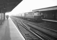 The BLS <I>East Kent Railtour</I> from London Victoria, seen on arrival at Sheerness on 19 November 1967 behind D6585.<br><br>[Robin Barbour Collection (Courtesy Bruce McCartney)&nbsp;19/11/1967]