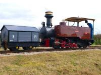 0-4-2T Saccharine (Fowler 13355 of 1914), originally built for a South African sugar plantation, seen here operating on the Statfold Barn Railway on 27 March.<br><br>[Peter Todd&nbsp;27/03/2010]