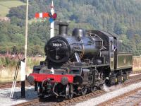 78019 photographed at Carrog on the Llangollen Railway on 12 September 2009<br><br>[Craig McEvoy&nbsp;12/09/2009]