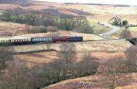 D5061 crossing the North York Moors on the approach to Goathland on 26 March 2010 at the head of an afternoon Pickering - Grosmont train.<br><br>[John Furnevel&nbsp;26/03/2010]