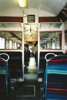 The sparse comforts of a first generation DMU, in this case a Class <br> 117 photographed in June 1997. <br> <br><br>[David Panton&nbsp;/06/1997]